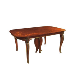 antique-luxury-dining-tables-with-hand-carved-wood-and-marquetry