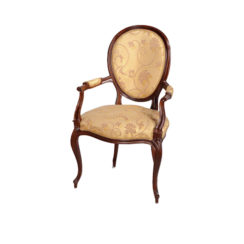 classical-french-style-dining-chairs-upholstered-luxury-fabric