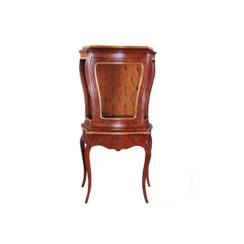 eggleton-antique-french-style-display-cabinet-with-luxury-tufted-velvet-fabric
