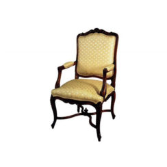 elegant-armchair-hand-carved-detailed-upholstery-luxury-fabric