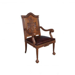 english-armchair-with-hand-carved-englanderline-wooden-detailed-and-upholstery-natural-leather
