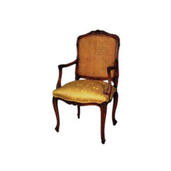 french-style-armchair-rattan-back-upholstery-luxury-fabric-seater