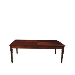 luxurious-antique-dining-table-with-wooden-veneer-inlay