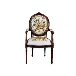 vintage-armchair-with-french-style-tapestry-upholstery