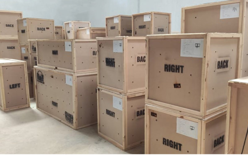 commercial packing