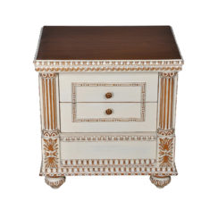 Distressed Paint Night Stand