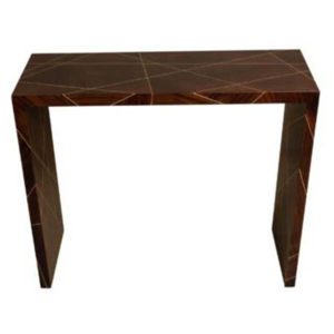 Duarte Dark Brown Console Table