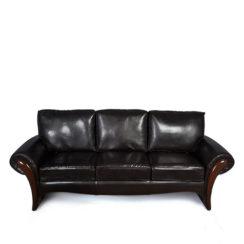 Elegant Living Room Leather Sofa