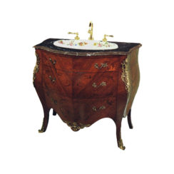 Ella French Marquetry Vanity Unit