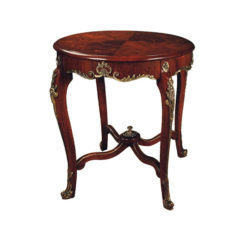 Avelina Antique French Style Round Side Table