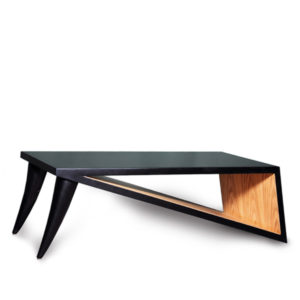 Jayden Black Lacquer Coffee Table