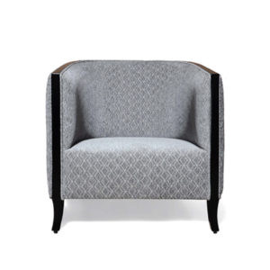 Theo Upholstered With Wooden Frame Armchair