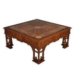 Top Elegant Marquetry Coffee Table
