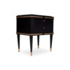 Arabelle 2 Drawers with Brass and Marble Bedside Table 4