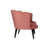 Flower Upholstered Blush Accent Chair 3