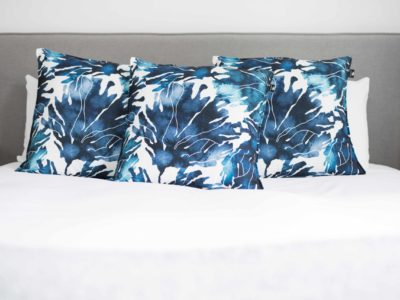 matched Luxury cushions
