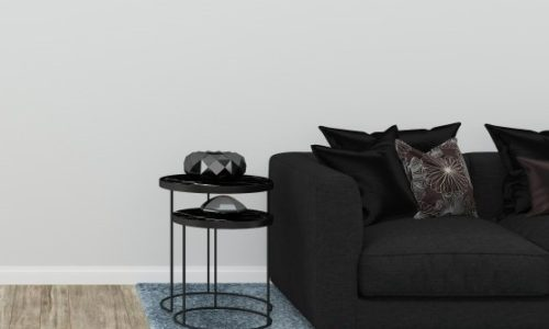 contemporary black side table uk