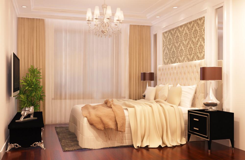 Style Velvet Bedside Table