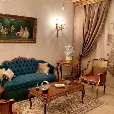 Classic Italian Sitting Room