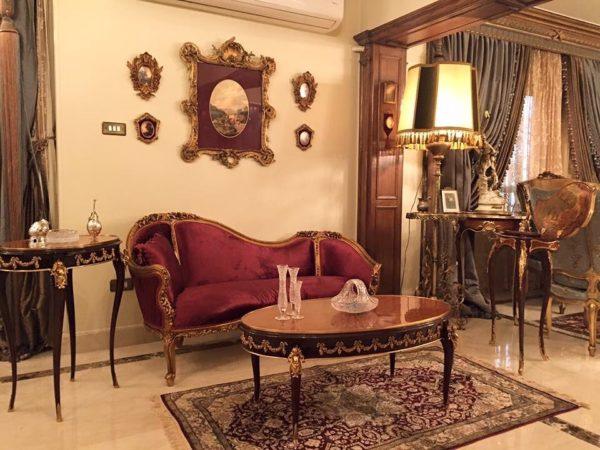 Classic Louis XV Sofa Reproduction
