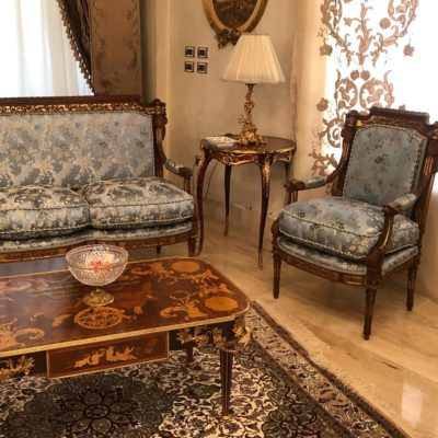 Classic Victorian Design Living Room