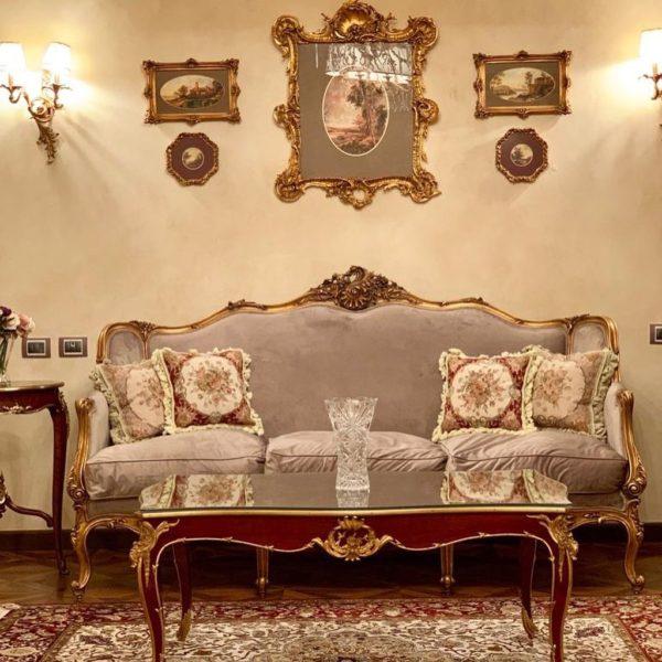 French Inspired Living Room Design 2