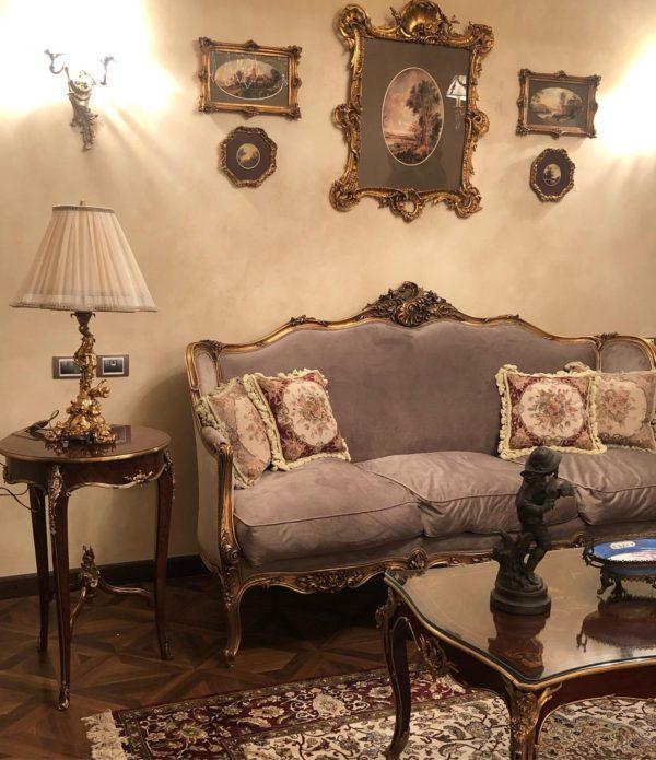French Inspired Living Room Design 3