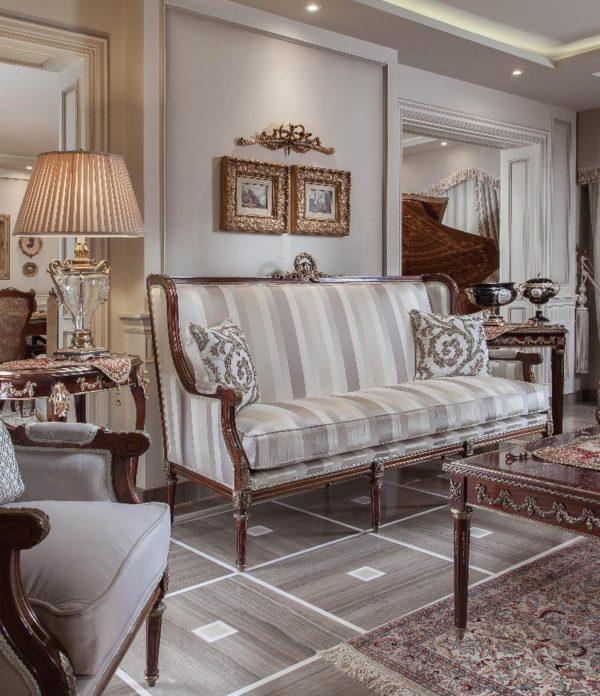 Victorian Grey Living Room 3