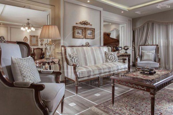 Victorian Grey Living Room