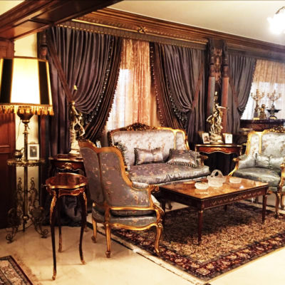 French furniture styles living room