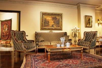 Italian classic furniture living room