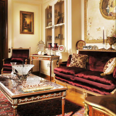 Victorian themed living room set