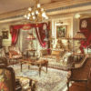 Victorian Themed Living Room 1