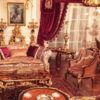 Victorian Themed Living Room 2