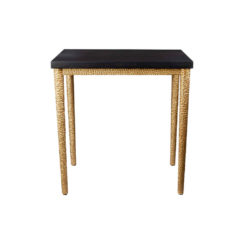 Amoir Side Table Black Front A