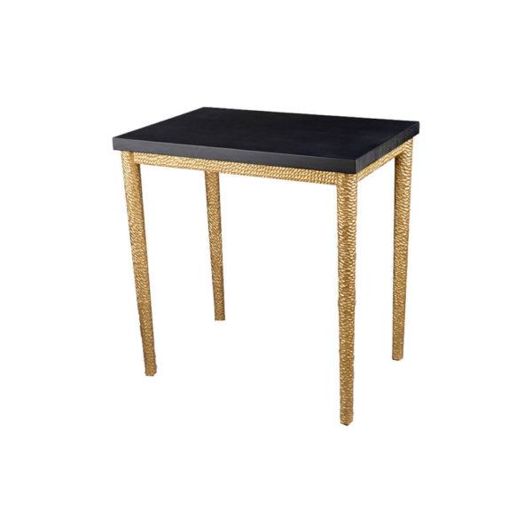 Amoir Side Table Black View