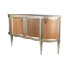 Camden Wooden and Marble Cabinet with Brass Handles 3