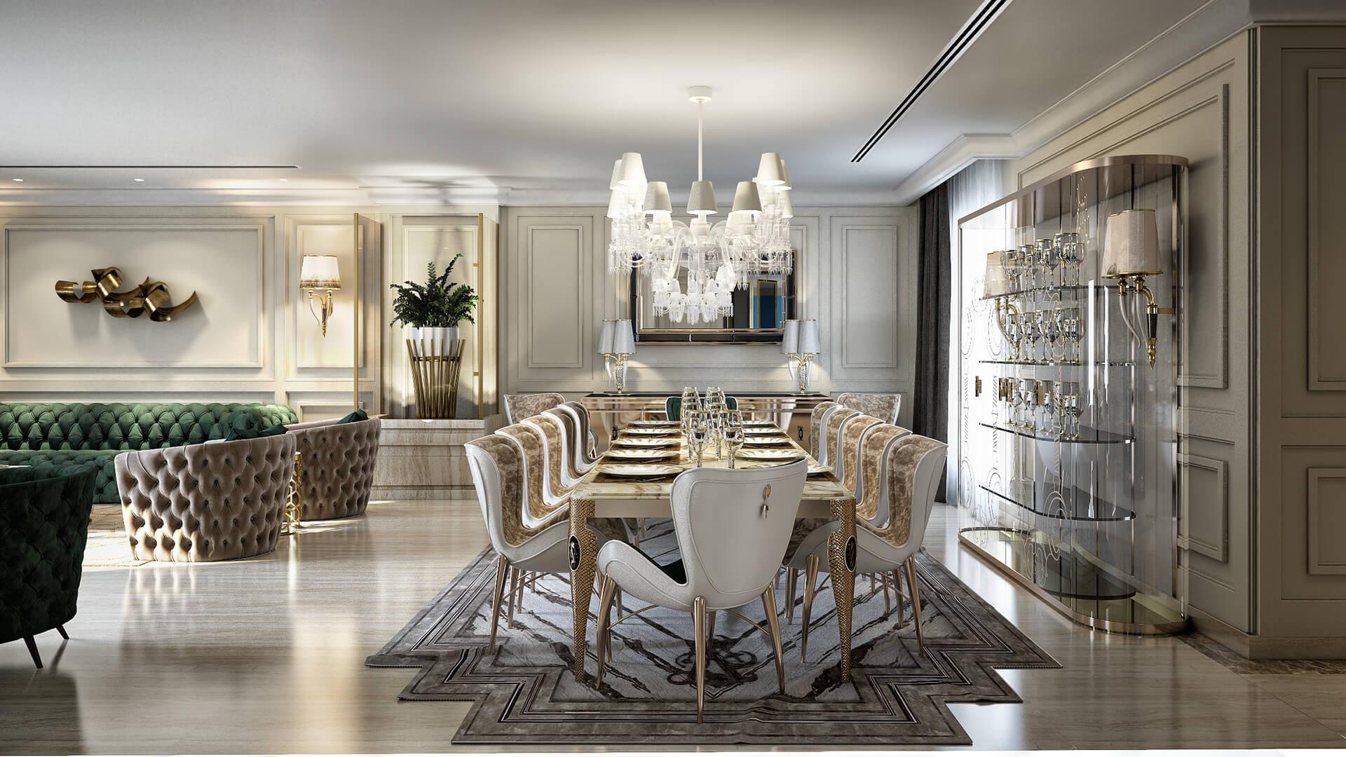 Knightsbridge Luxury Dining Room Furniture 1