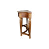 Edmund Elegant Style Console Table Marble Top 4