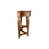Edmund Elegant Style Console Table Marble Top 3