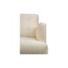 Edmund Upholstered Off White Armchair UK 8