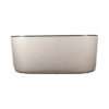 Frisco Upholstered Wooden Frame Cream Linen Sofa 6
