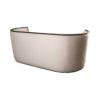 Frisco Upholstered Wooden Frame Cream Linen Sofa 7
