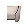 Frisco Upholstered Wooden Frame Cream Linen Sofa 5