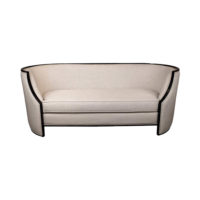 Frisco Upholstered Wooden Frame Sofa Uk