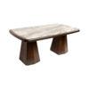 Hayman Brown Marble Coffee Table Top 1