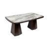 Hayman Brown Marble Coffee Table Top 2