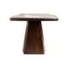 Hayman Brown Marble Coffee Table Top 5