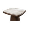Hayman Brown Marble Topped Side Table 8