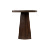 Hayman Brown Marble Topped Side Table 6